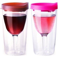 Vino2Go Acrylic Wine Tumblers 2-Pack for $13 + free shipping via Prime