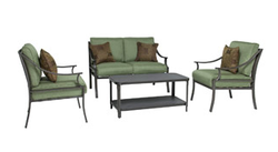 Foster 4-Piece Patio Conversation Set for $299 + free shipping