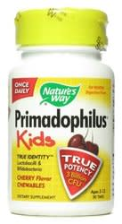 Nature's Way Primadophilus for Kids 30-Count Bottle for $2 + free shipping