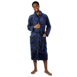 Luxury Port 903 Men's Fleece Lounge & Leisure Robe for $10 + free shipping