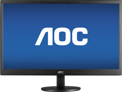 "AOC 24"" 1080p LED LCD Display for $100 + free shipping"