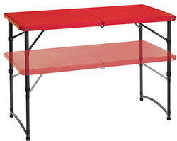 3-Foot Folding Tailgating Table 2-Pack for $39 + pickup at Walmart