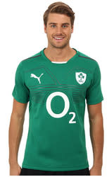 PUMA Men's Ireland Rugby Jersey Replica for $35 + free shipping