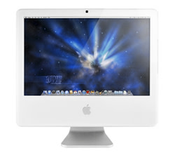 "Used Apple iMac Core 2 Duo 1.83GHz 17"" Desktop for $139 + free shipping"