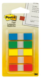 Post-It Flags with On-the-Go Dispenser for $1 + free shipping via Prime w/ $25
