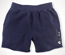 Ralph Lauren Infant Boys' Cotton Terry Pull-On Shorts for $15 + $5 s&h