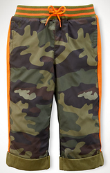 Ralph Lauren Infant Boys' Camo Active Pull-On Pants for $19 + $5 s&h