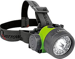 Quarrow 70-Lumen Head Lamp for $10 + $6 s&h