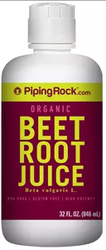 Piping Rock Organic Beet Root Juice 32-oz. Bottle for $6 + free shipping