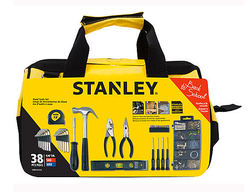 Stanley 38-Piece Home Tool Kit for $12 + pickup at Sears