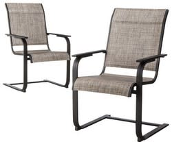 Threshold Linden 2-Piece Sling Dining Chair Set for $107 + $20 s&h