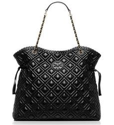 Tory Burch Women's Marion Quilted Slouchy Tote for $476 + free shipping