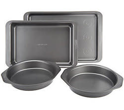 Cake Boss 4-Piece Metal Bakeware Set for $17 + free shipping