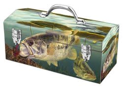 Art Deco Fish-Inspired Portable Tool Box for $5 + pickup at Sears