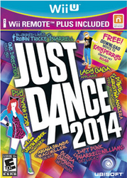 Just Dance 2014 for Wii U, Wii Remote Plus for $30 + pickup at Best Buy