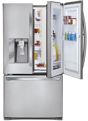 LG 30.5-Cu.-Ft. French Door Refrigerator for $1,799 + pickup at Fry's