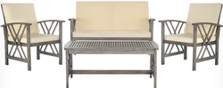 Fontana 4-Piece Seating Group Set for $340 + free shipping