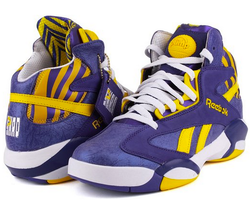 Reebok Men's Shaq Attaq LSU Basketball Shoes for $42 + $5 s&h, more