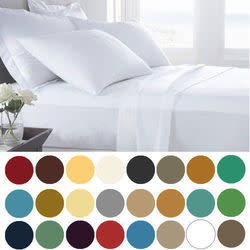 Lexington 4-Piece Twin Microfiber Sheet Set for $14 + free shipping, more