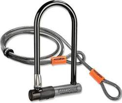 Kryptonite KryptoLok Bicycle U-Lock, 4-Foot Flex Cable for $30 + free shipping