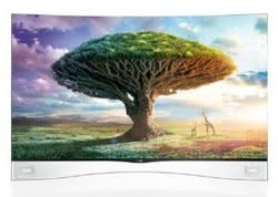 "LG 55"" 1080p Cinema 3D OLED Smart HDTV for $2,000 at Micro Center stores"