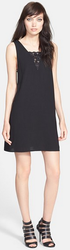 Tildon Women's Lace Inset Shift Dress for $24 + free shipping