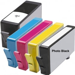 Remanufactured HP 564XL-Compatible Inkjet Cartridge 5-Pack for $20 + $4 s&h