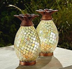 Garden Oasis LED Mosaic Pineapple for $15 + pickup at Sears