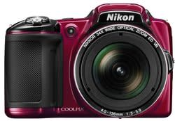 Refurb Nikon Coolpix L830 16MP Camera, software for $160 + free shipping
