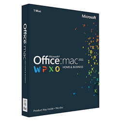 Microsoft Office 2011 Home & Business Edition for Mac for $114 + free shipping