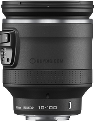 Refurb Nikon 1 Nikkor 10-100mm f/4.5 - 5.6 VR Lens for $399 + free shipping