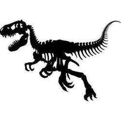 T-Rex Bones Wall Decal for $8 + $5 s&h