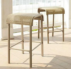 Garden Oasis Long Beach Sling Bar Stool 2-Pack for $58 + pickup at Sears