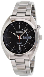 Seiko Men's Kinetic Black Dial Watch for $75 + free shipping