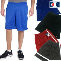 Champion Young Men's Performance Shorts for $6 + free shipping