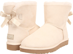 UGG Women's Mini Bailey Bow Boots for $105 + free shipping