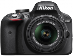 Refurb Nikon D3300 24MP DSLR w/18-55mm Lens for $400 + free shipping