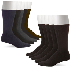 John Weitz Men's Platinum Collection Dress Sock 5-Pack for $8 + free shipping