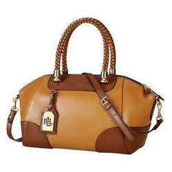 Ralph Lauren Women's Leather Wakefield Satchel for $250 + free shipping