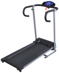 GoPlus 500W Folding Electric Treadmill for $160 + free shipping