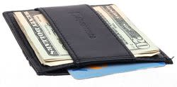 Alpine Swiss Men's Leather Wallets for $10 + free shipping