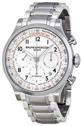 Baume and Mercier Men's Chronograph Watch for $1,695 + free shipping