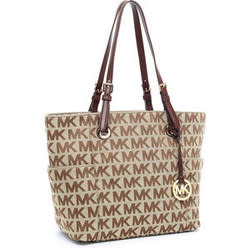 Michael Kors Jet Set Signature Logo Tote for $125 + free shipping