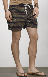 Denim & Supply Ralph Lauren Men's Camo Poplin Shorts for $25 + $5 s&h