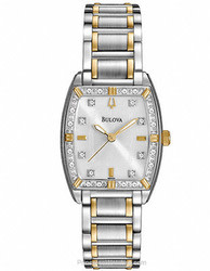 Bulova Women's Diamonds Watch for $119 + free shipping