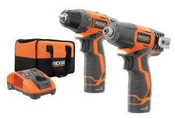Ridgid 12V Drill/Driver & Impact Driver Kit for $99 + pickup at Home Depot