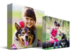 "10"" x 10"" Instagram or Facebook Photo Canvas for $12 + free shipping, more"