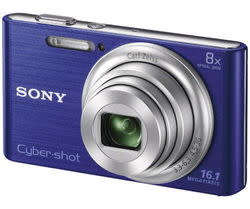 Refurb Sony Cyber-shot DSC-W730 16MP 8x Zoom Camera for $75 + free shipping