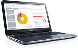 "Dell Inspiron Haswell Core i3 1.7GHz 17"" Touch Laptop for $500 + free shipping"