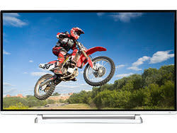 "Toshiba 40"" 120Hz 1080p LED LCD HDTV, 2 HDMI cables for $349 + free shipping"